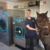 new laundry for stable yard