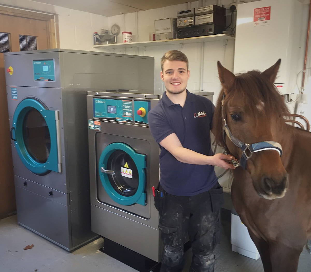 Equestrian laundry equipment